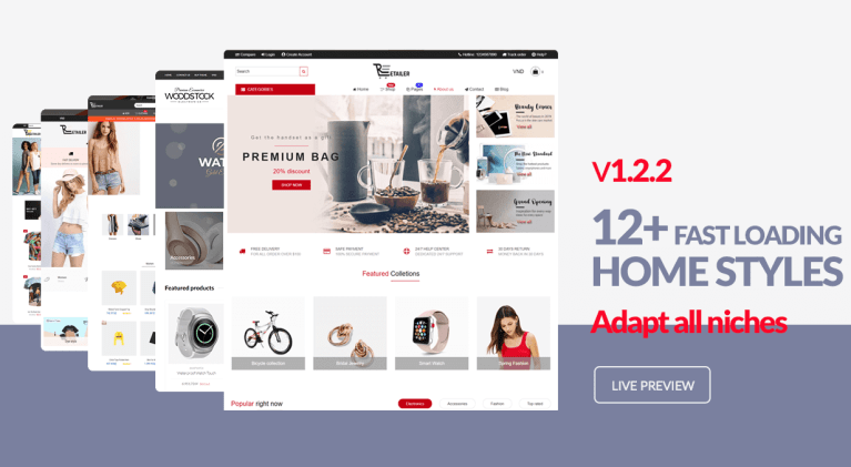 Download Woodstock Shopify Theme for Free