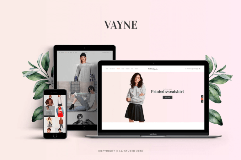 Vayne – Multipurpose FREE WooCommerce Theme