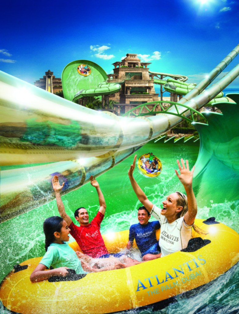 Anaconda Flume-thru-Flume - Atlantis The Palm, Dubai (1)