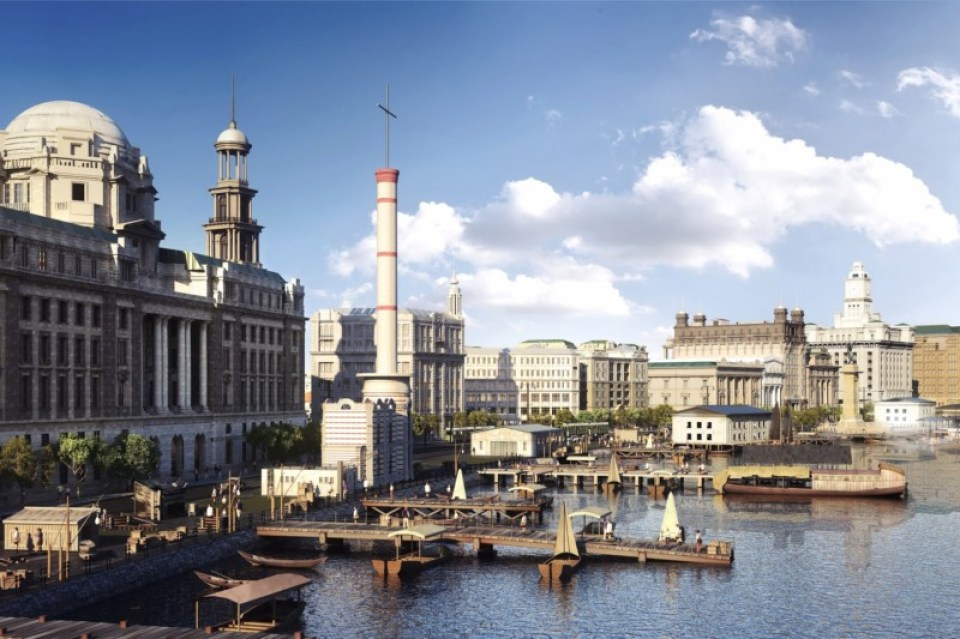 """BUND Waterfront ©2013 Gary Goddard Entertainment"