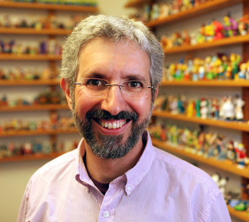 Roger Gould is photographed on November 17, 2011 at Pixar Animation Studios in Emeryville, Calif. (Photo by Deborah Coleman / Pixar)