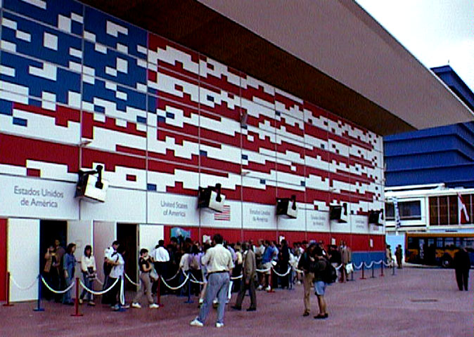 US Pavilion Lisbon 98. Photo: Gordon Linden