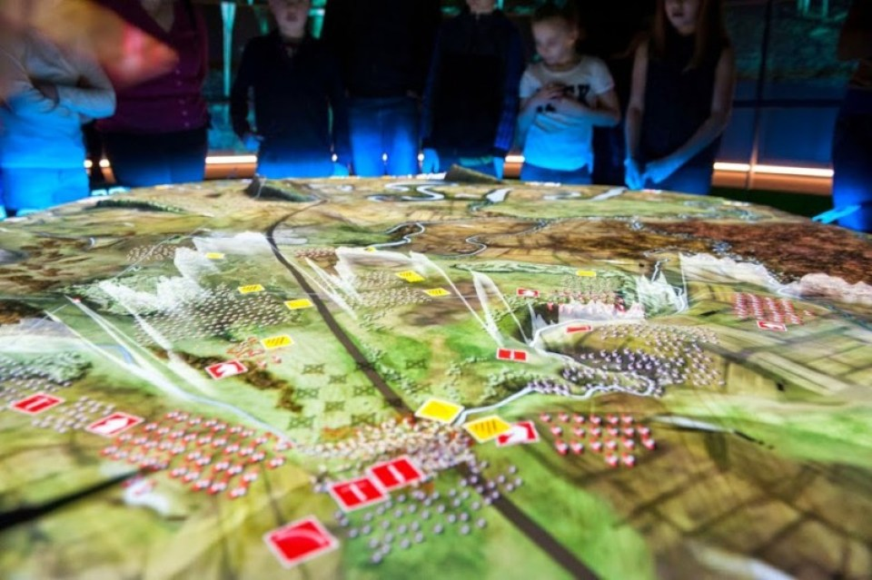 The Bannockburn 3D Battle Map NTS pic