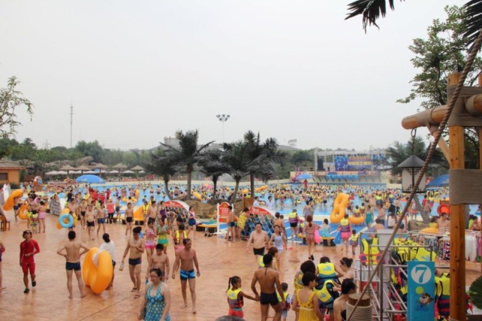Tianmu Lake Wave Pool (1)