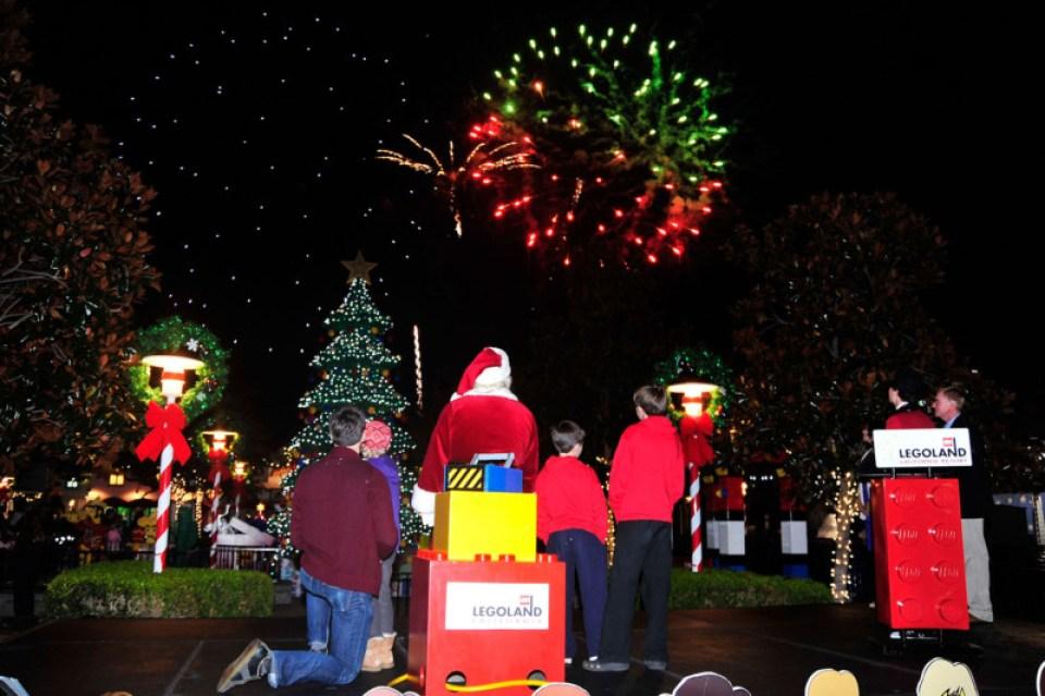 LEGOLAND California 2012 Holiday Tree Lighting Ceremony