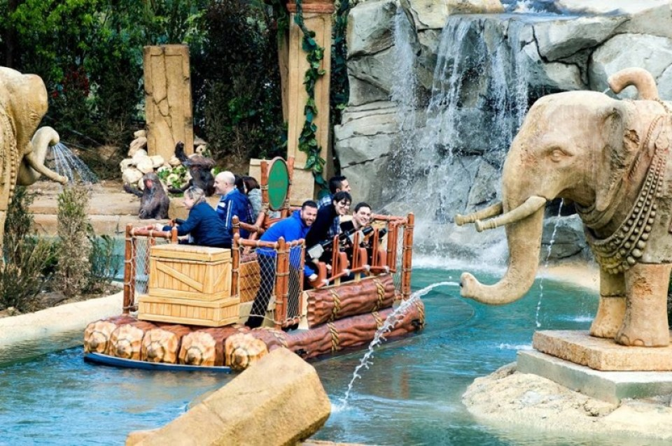 Angkor: Adventure in the Lost Kingdom, PortAventura
