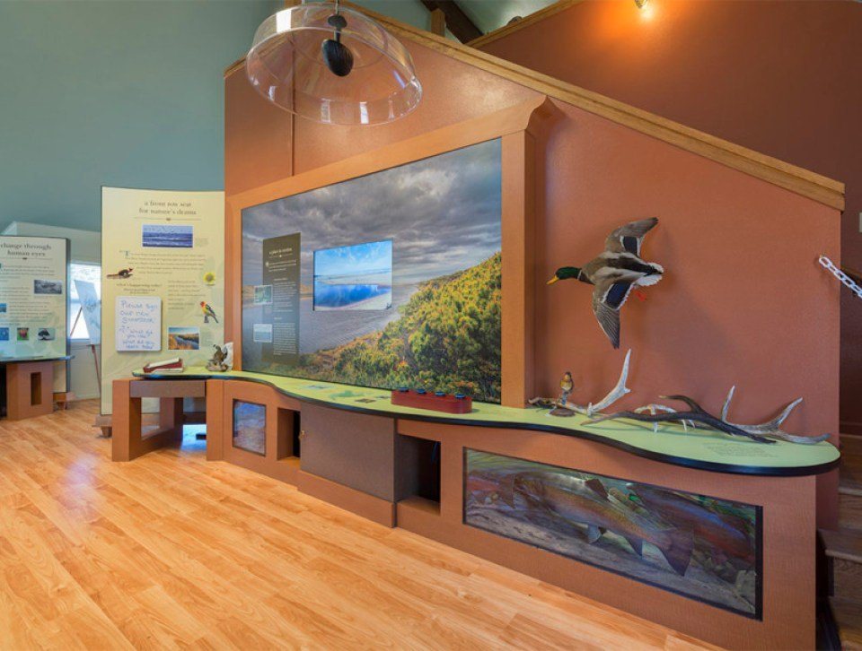 Exhibits at New River Visitor Center
