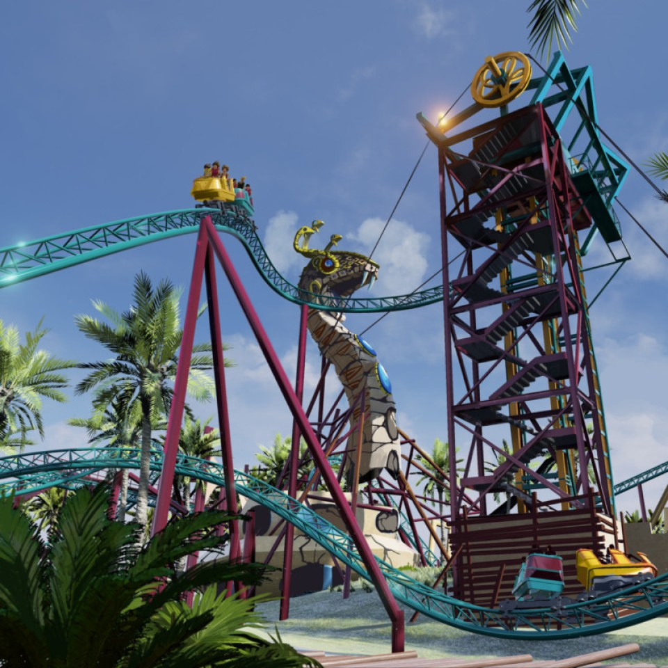 Cobra's Curse Key Rendering