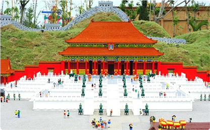 Forbidden City and Great Wall at LEGOLAND Malaysia