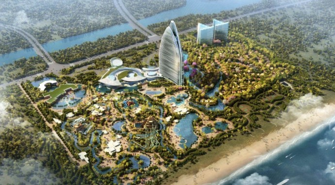Atlantis Sanya. Courtesy Kerzner International.