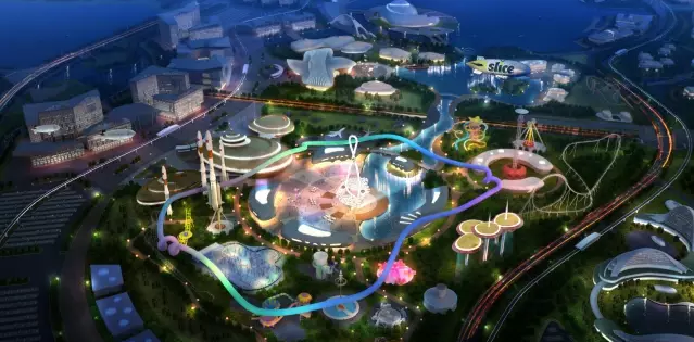 Artist rendering of Future World Science and Technology Theme Park