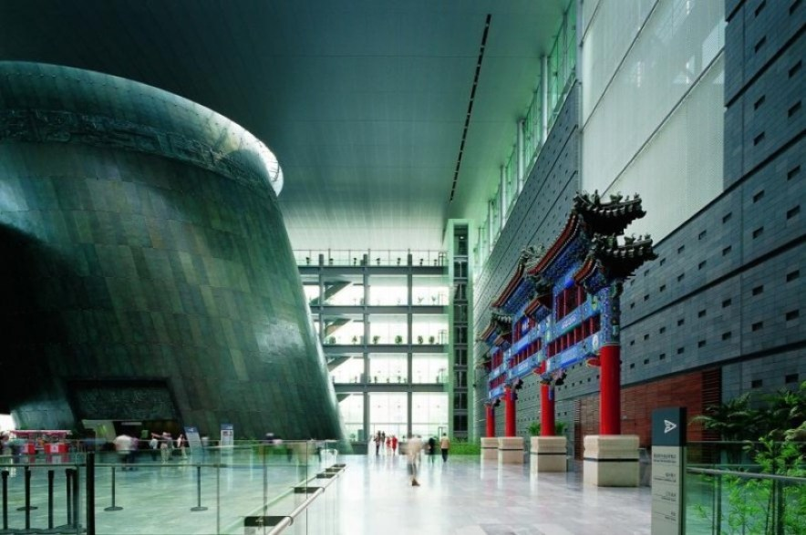 Capital Museum Beijing. Photo courtesy International Copper Association.
