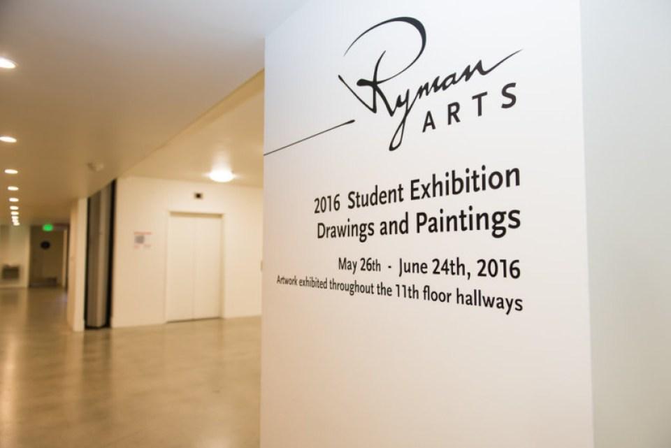 2016 Grad - Ryman Arts Exhibit