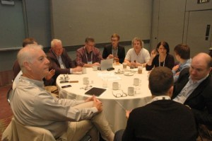 David Willrich with colleagues at the annual TEA Members Meeting in November 2014