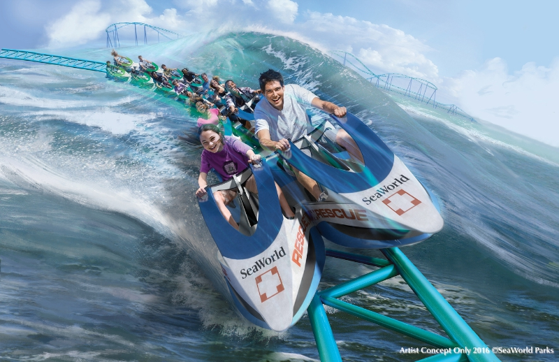 SeaWorld Entertainment Rescue Coaster