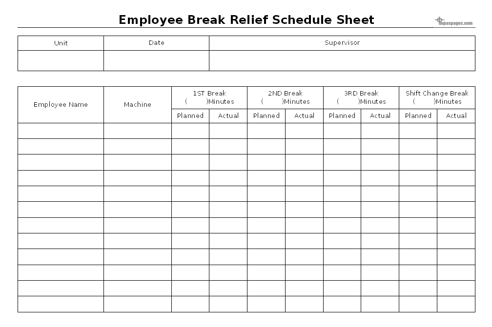 Texarkana gazette texarkana breaking news for Break and lunch schedule template
