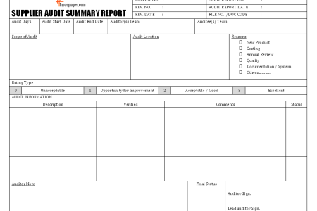 Best Free Fillable Forms » information technology audit report ...
