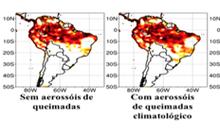 Imagem Em um estudo pioneiro, CPTEC/INPE avalia o impacto dos aerossóis de queimadas na previsão climática sazonal