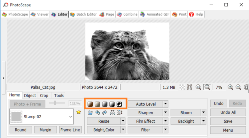 Image result for photoscape editing tools