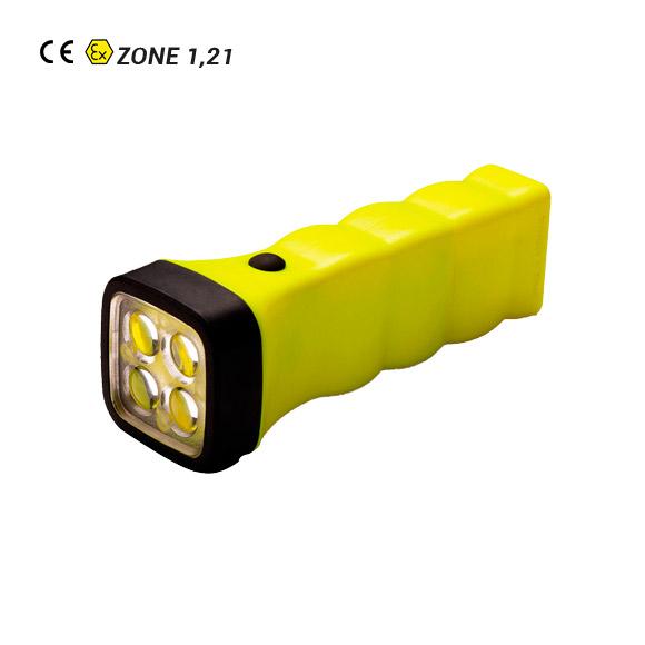 Linterna Recargable ATEX FourLED-EX