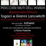 Togaci e Gianni Lancellotti: Percorsi muti dell'anima