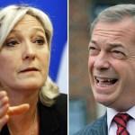 Boom degli euroscettici: il trionfo di Le Pen e Farage
