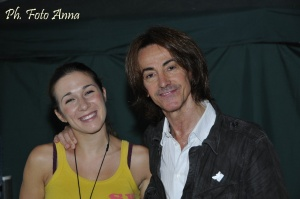 with Alberto Fortis