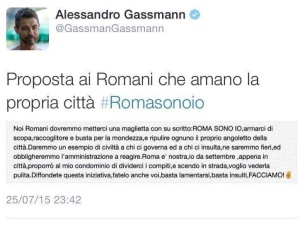ROMA-SONO-IO-ALESSANDRO-GASSMAN-GASSMANN-TWITTER-2015