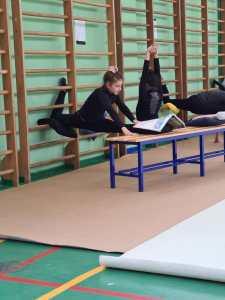 Chiara, 10 anni al ginnastica ritmica come maestra di vita