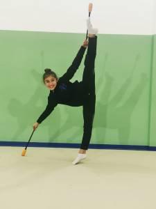 Eleonora (10 anni) la ginnastica ritmica come maestra di vita