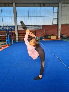 Giorgia 10 anni la ginnastica ritmica come maestra di vita