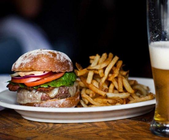 Burger at Fonda Americana Grill