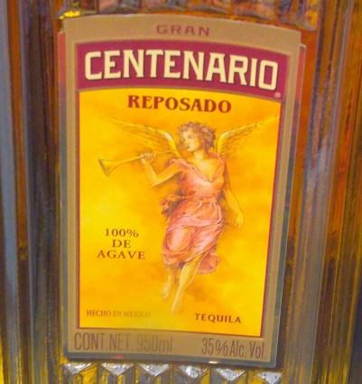 Centenario Gold Tequila