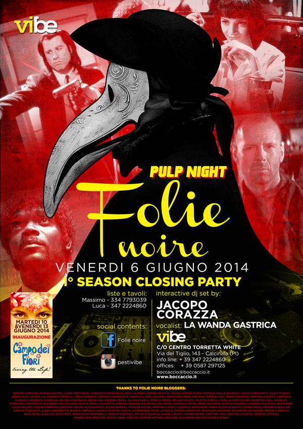 Serata Folie Noire – Boccaccio Club