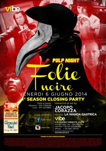 Serata Folie Noire - 6 Giugno 2014