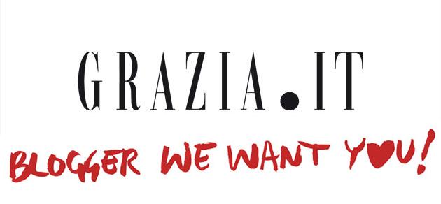 Una nuova sfida : Blogger We Want You di Grazia!!!