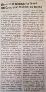 Articolo pubblicato su noto giornale brasiliano.
