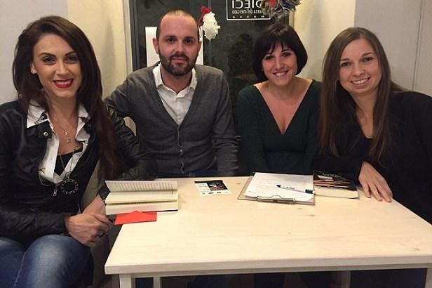 """Presentazione """"Non so più dove cercarti"""" con Alessio Biagi e Elisa Marangon"""