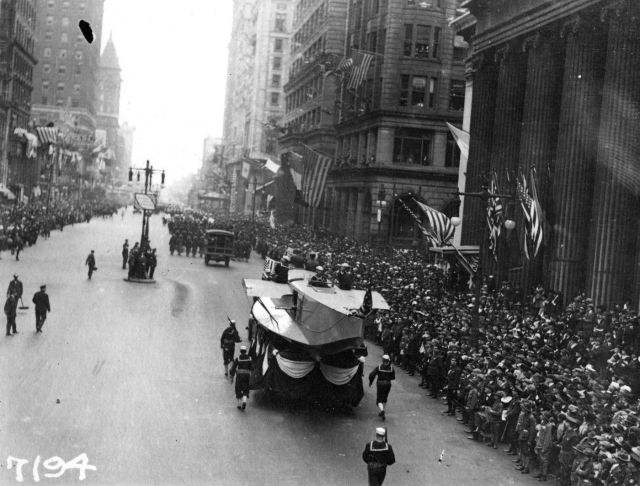 The Liberty Loan parade in 1918 that inadvertently spread a virulent strain of the flu.