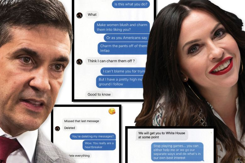 Pennsylvania GOP chair Val DiGiorgio traded sexually charged messages with a Philly Council candidate. Then he sent her an explicit photo.