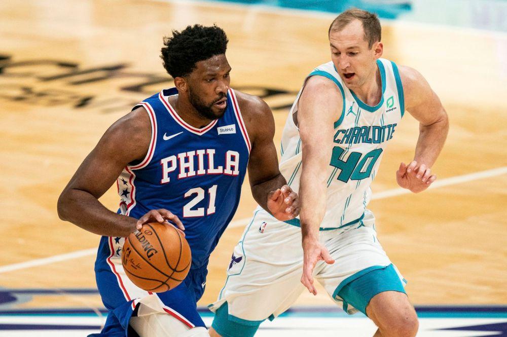 Αποτέλεσμα εικόνας για Philadelphia 76ers - Charlotte Hornets 118-111