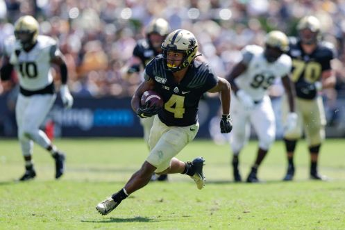 Purdue All-America wide receiver Rondale Moore ruled out for Saturday's game at Penn State