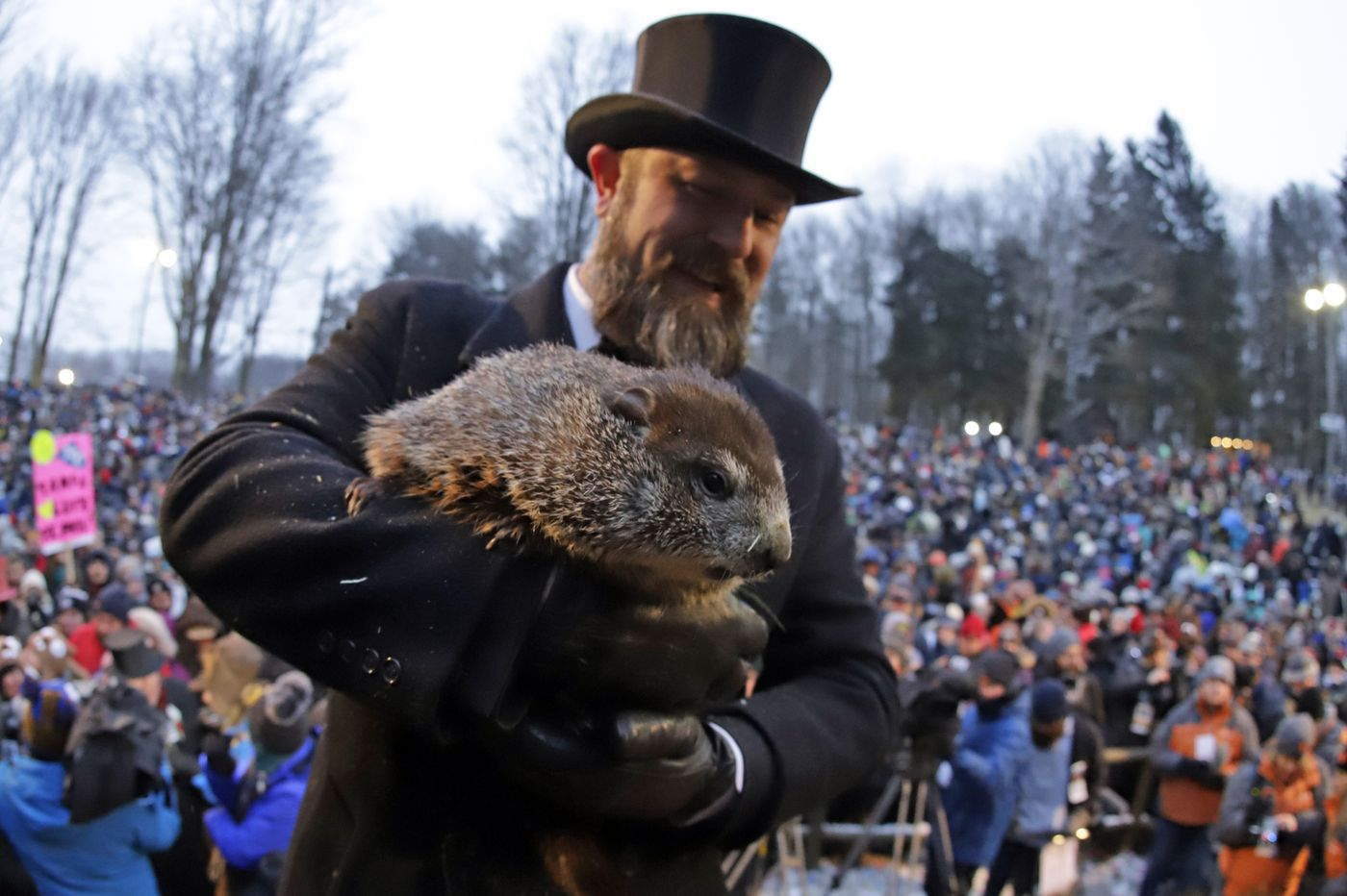 On Groundhog Day Will Punxsutawney Phil See His Shadow