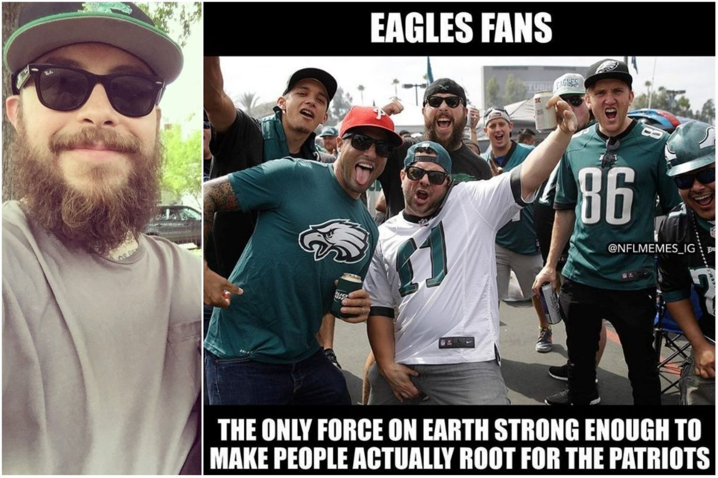 What It S Like To Be The Subject Of An Anti Eagles Viral Photo