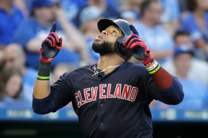 Carlos Santana is an All-Star after smashing the Phillies' TV
