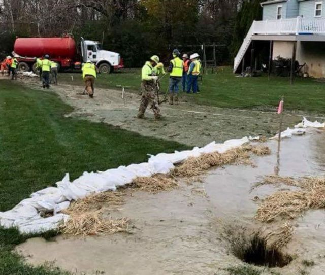 Sunoco Will Temporarily Relocate Residents While It Conducts Pipeline Sinkhole Study