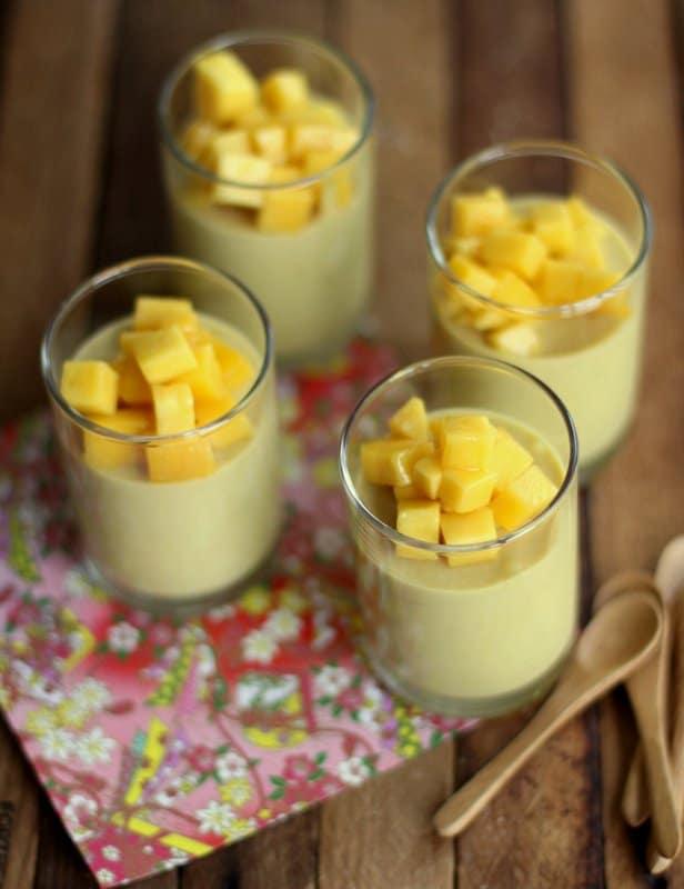 Mango Yogurt Mousse :: Inquiring Chef