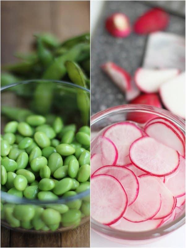 Edamame and Radish :: Inquiring Chef