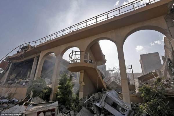 5ad226bc6a716598093280_1523724672-8142329 Publikohen pamje nga Siria pas sulmit nga SHBA-të
