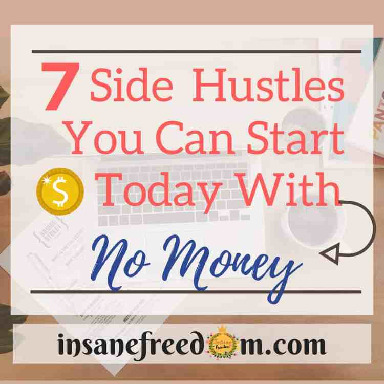 7 Side Hustles You Can Start Today With No Money - Insane